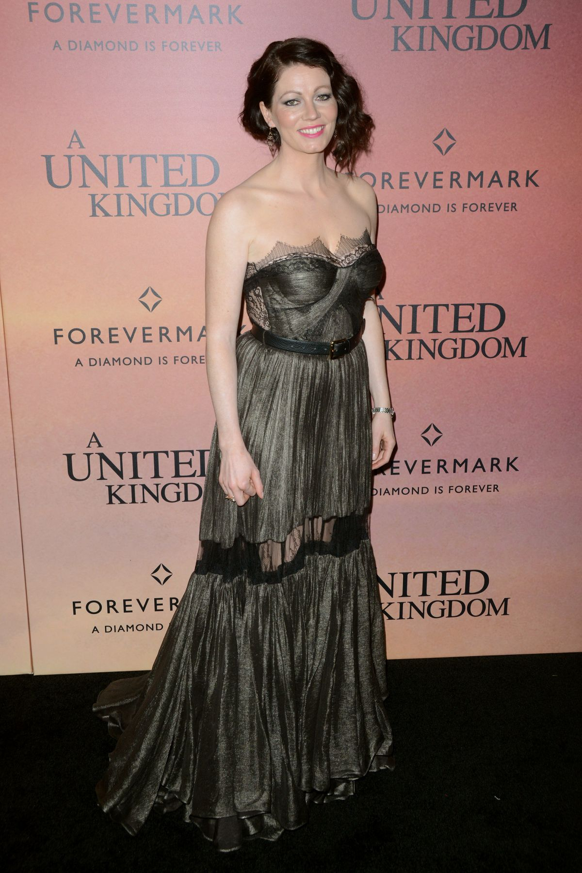 JESSICA OYELOWO at 'United Kingdom' Premiere in New York 02/06/2017