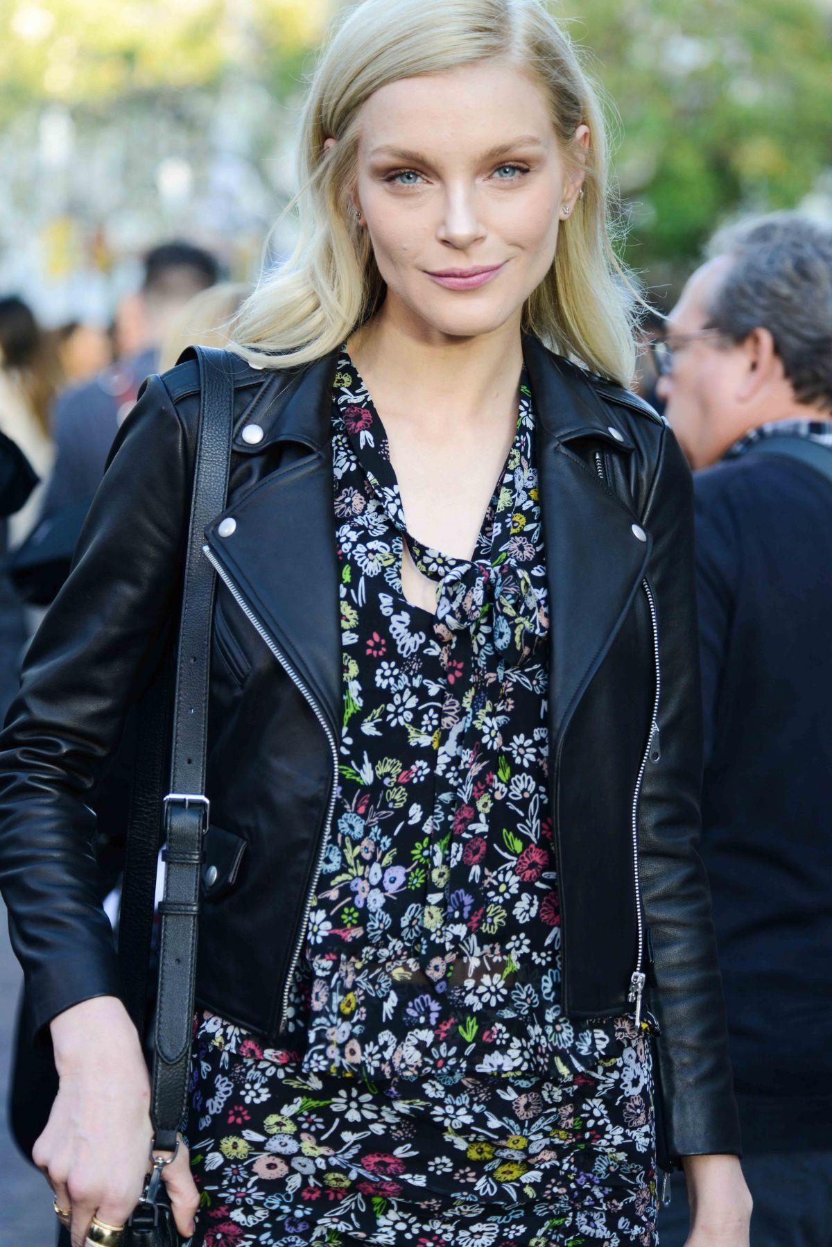 JESSICA STAM at Rebecca Minkoff Fashion Show in Los Angeles 02/04/2017
