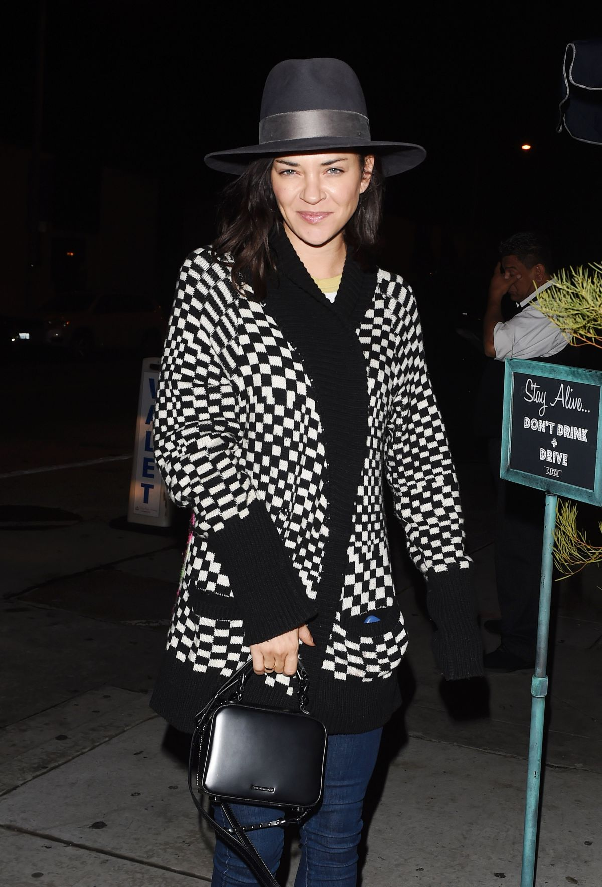 JESSICA SZOHR at Catch LA in West Hollywood 02/20/2017