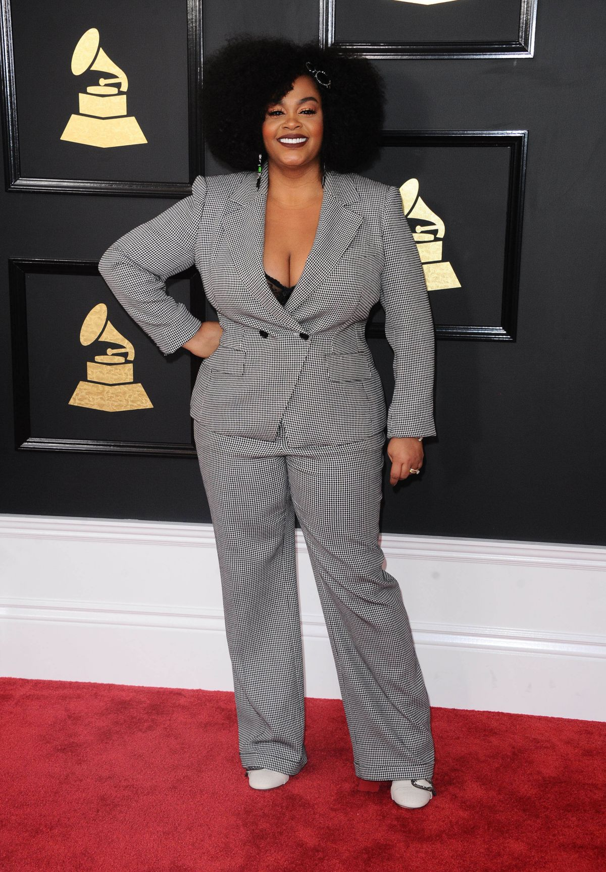 JILL SCOTT at 59th Annual Grammy Awards in Los Angeles 02/12/2017
