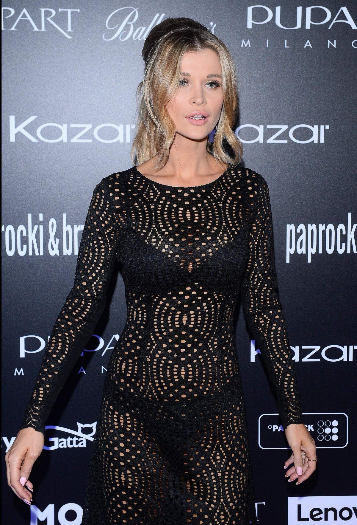 JOANNA KRUPA at Paprocki & Brzozowski Show in Warsaw 02/02/2017