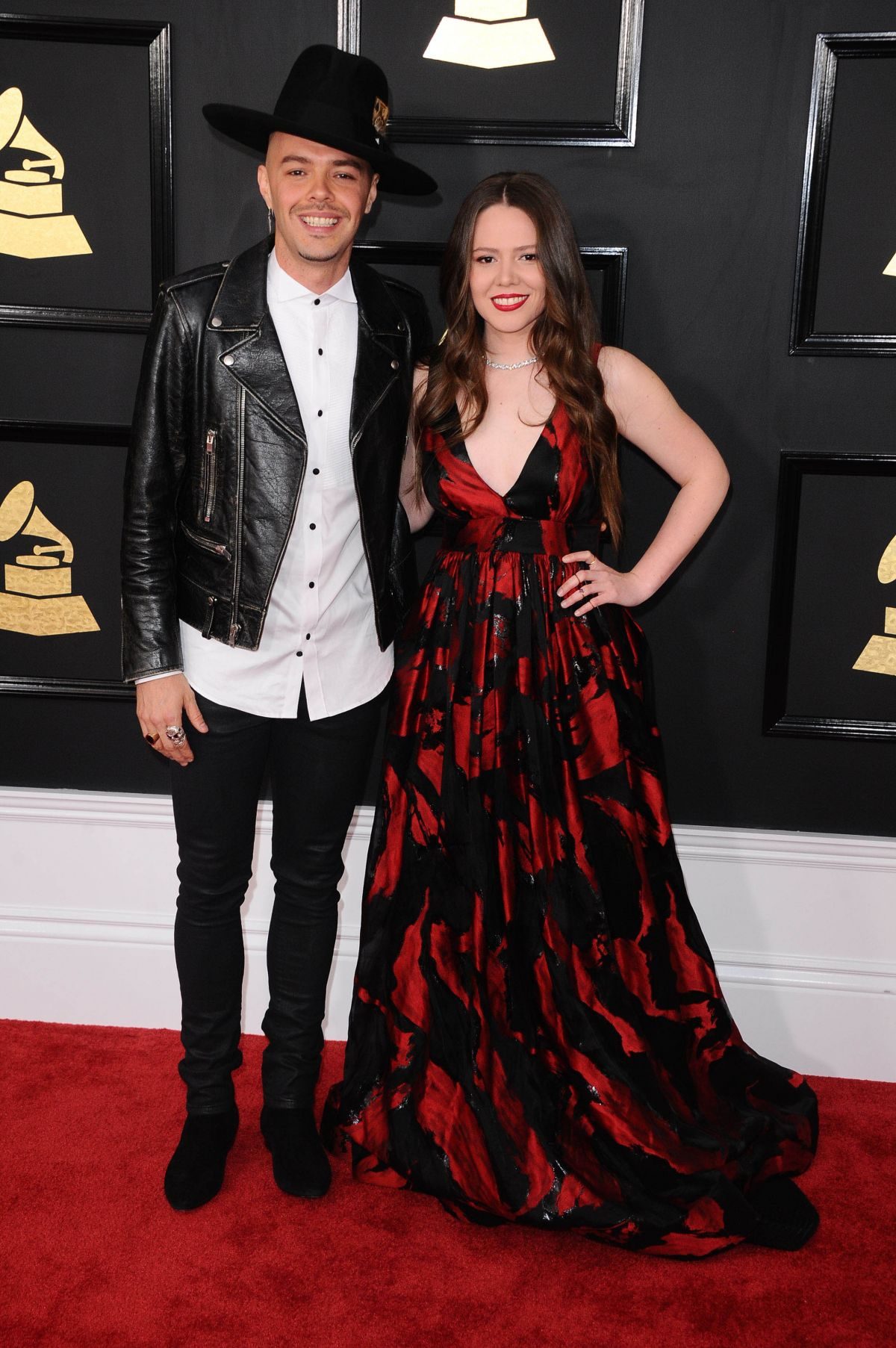 JOY HUERTA at 59th Annual Grammy Awards in Los Angeles 02/12/2017