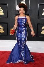 JOY VILLA at 59th Annual Grammy Awards in Los Angeles 02/12/2017