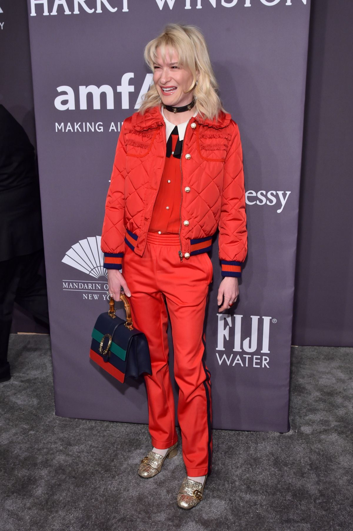 JULIE MACKLOWE at AMFAR 2017 New York Gala 02/08/2017