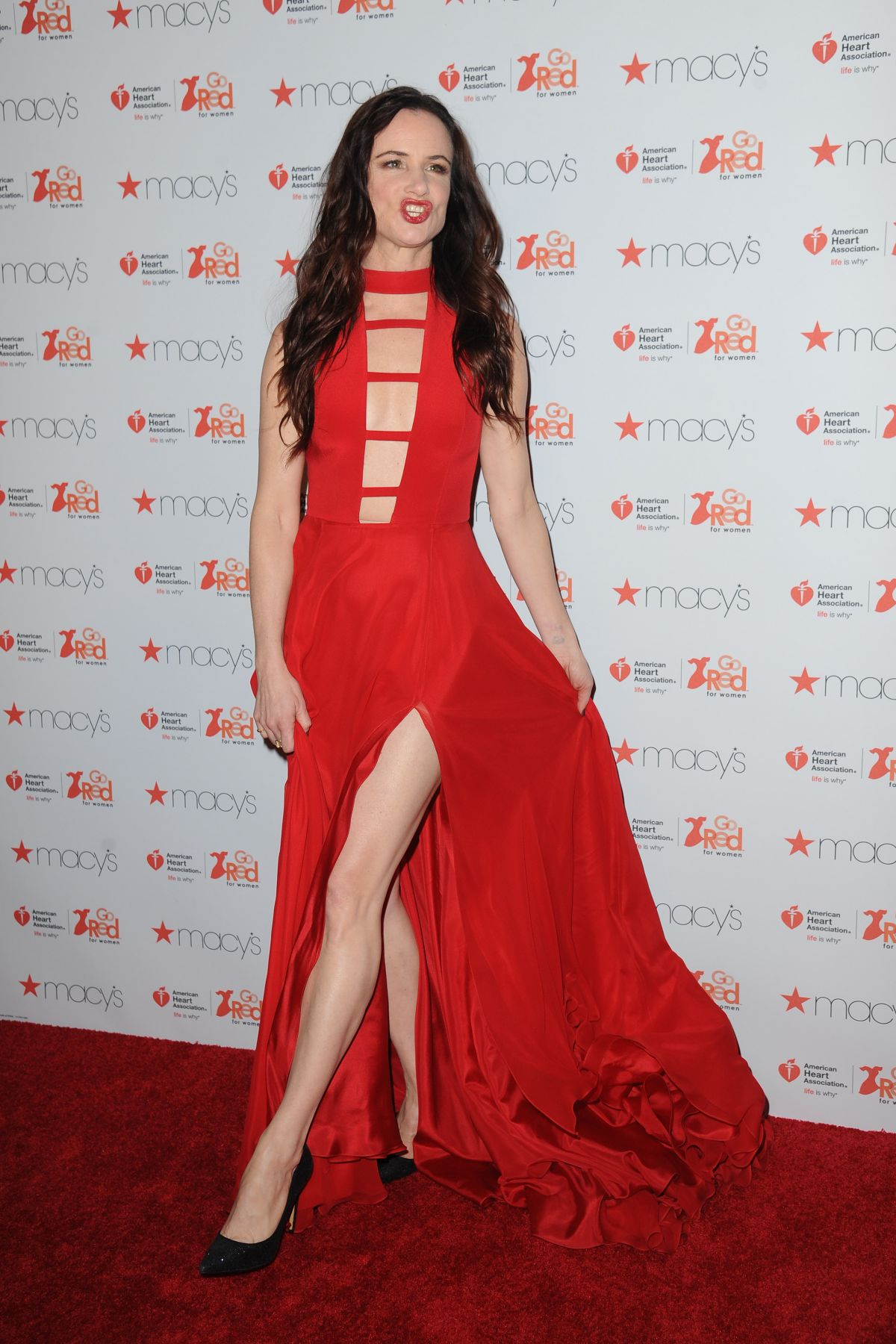 Amazing  Women Red Dress Collection 2017 In New York 02092017  HawtCelebs