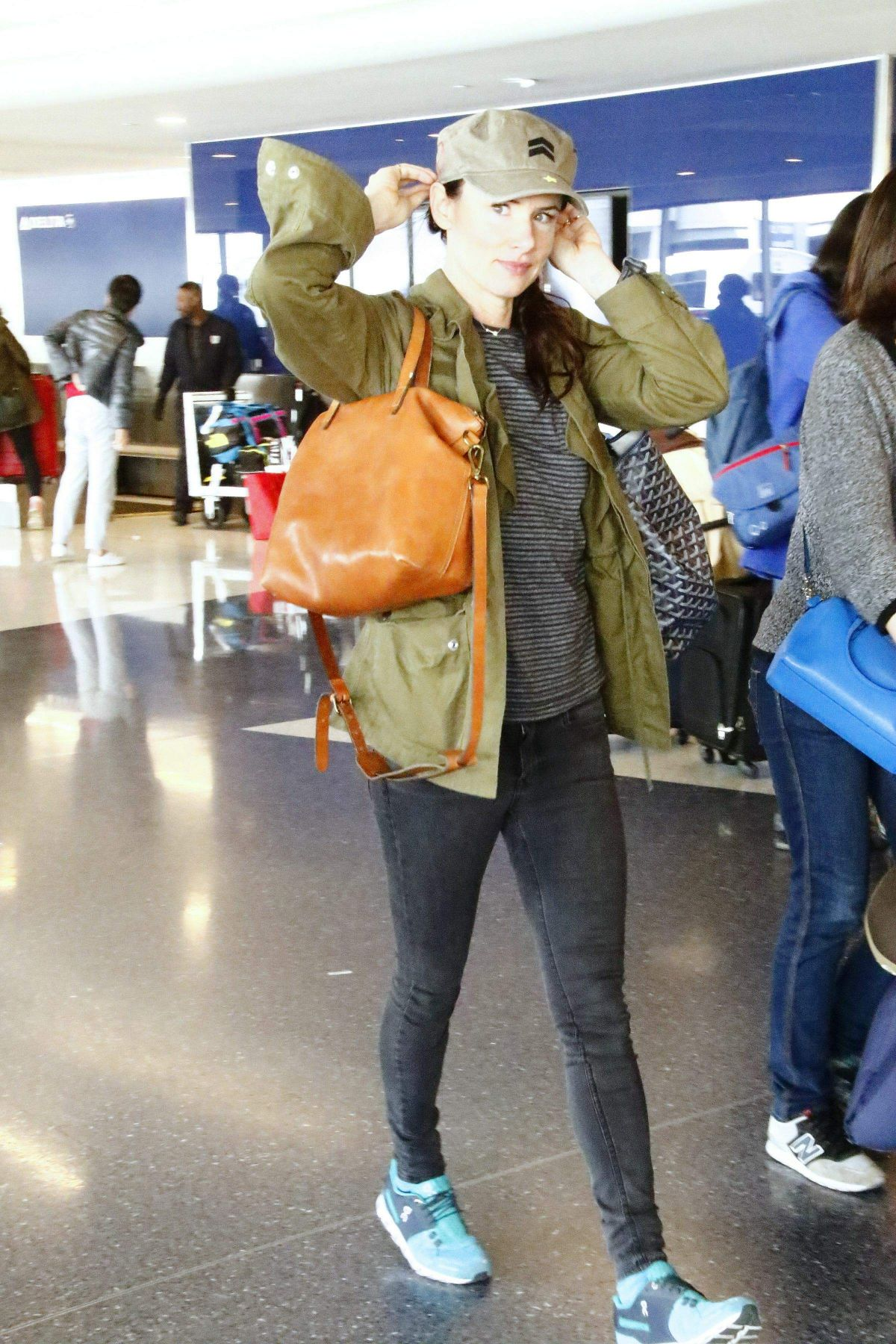 JULIETTE LEWIS at Los Angeles Interntional Airport 02/02/2017