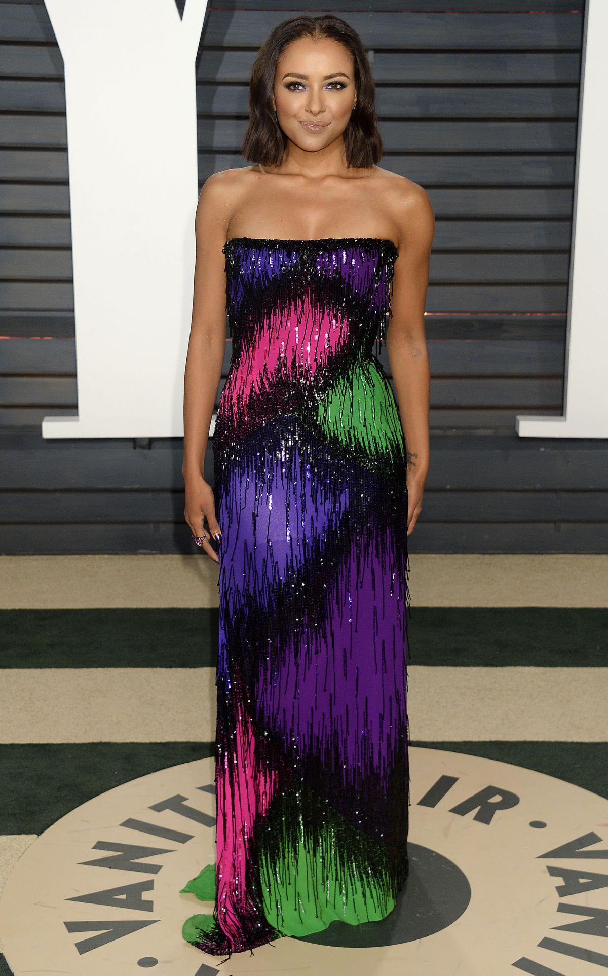 KAT GRAHAM at 2017 Vanity Fair Oscar Party in Beverly ...