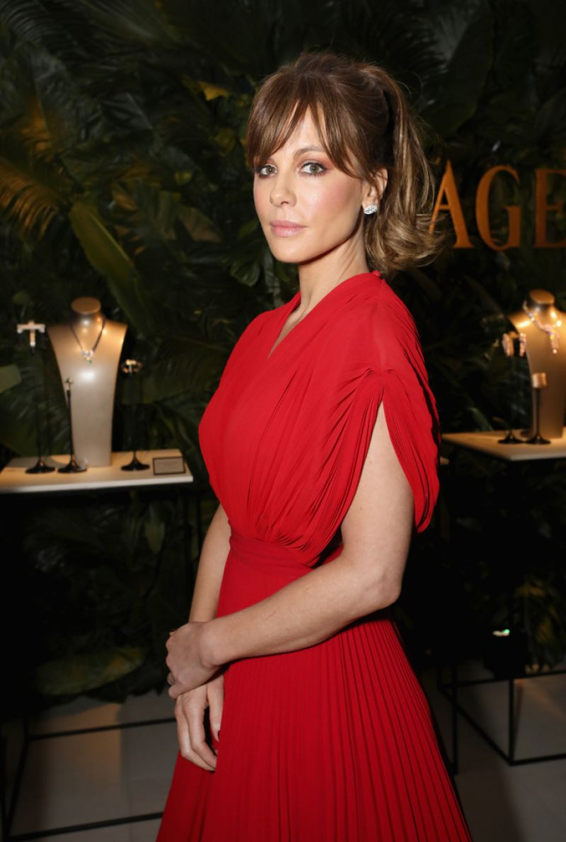 KATE BECKINSALE at Piaget and Teh Winstein Company Oscar Weekend Cocktail Party in Los Angeles 02/24/2017