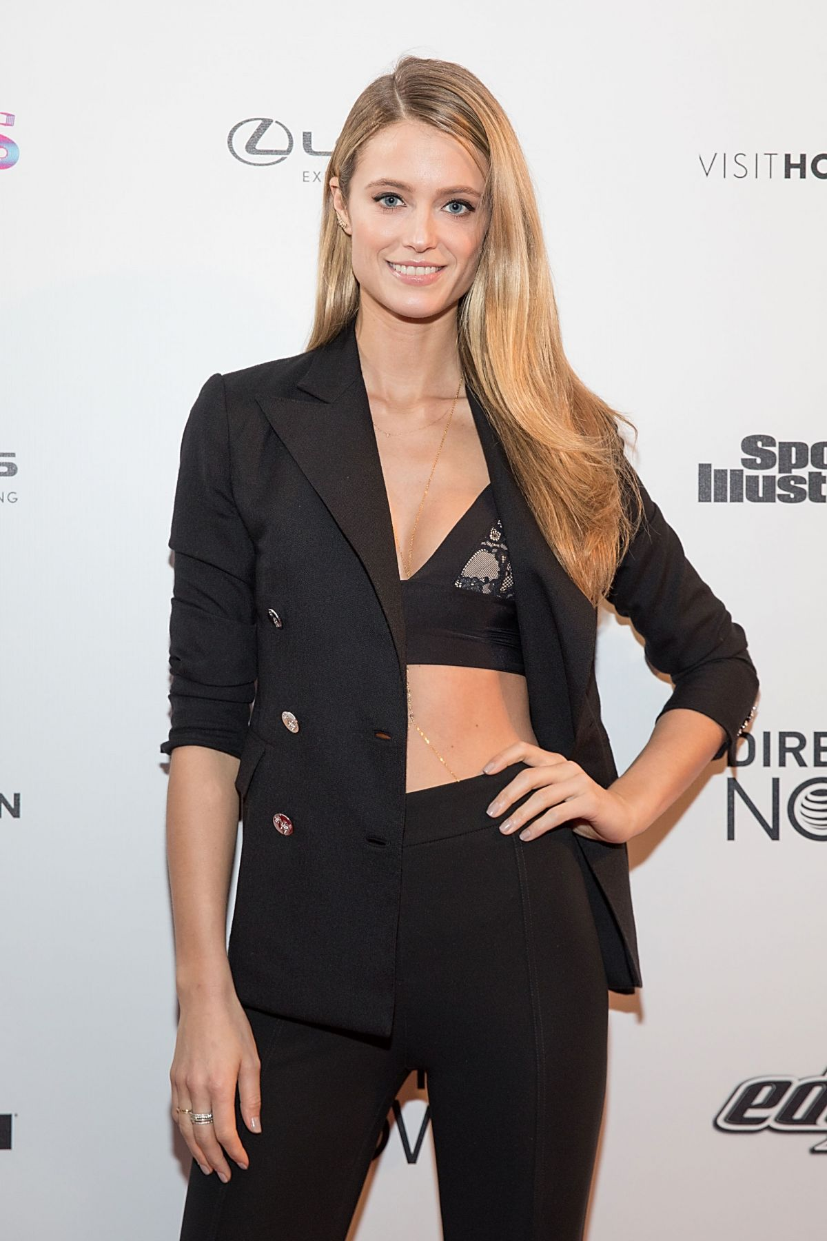 KATE BOCK at VIBES by SI Swimsuit 2017 Launch Festival Day 2 in Houston 02/18/2017