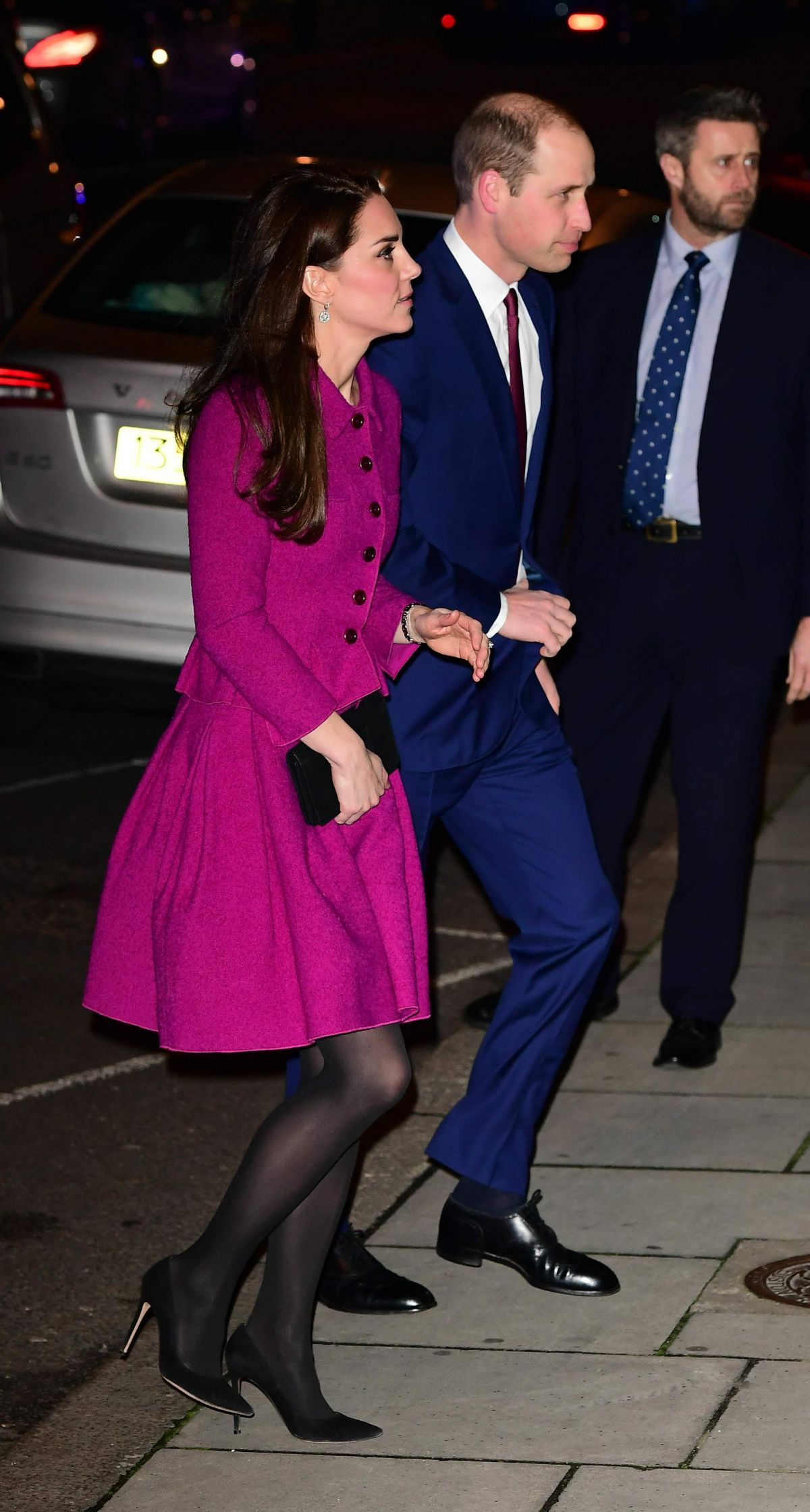 Kate Middleton Arrives At Chandos House In London 02 06