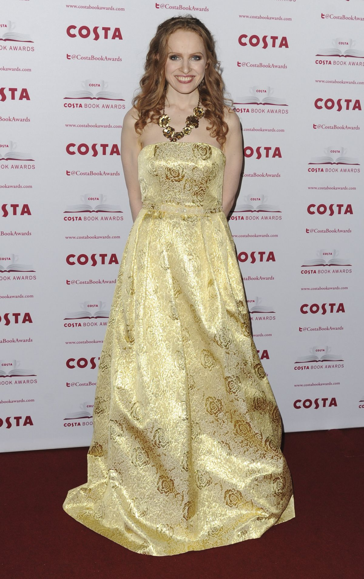 KATE WILLIAMS at Costa Book Awards in London 01/31/2017