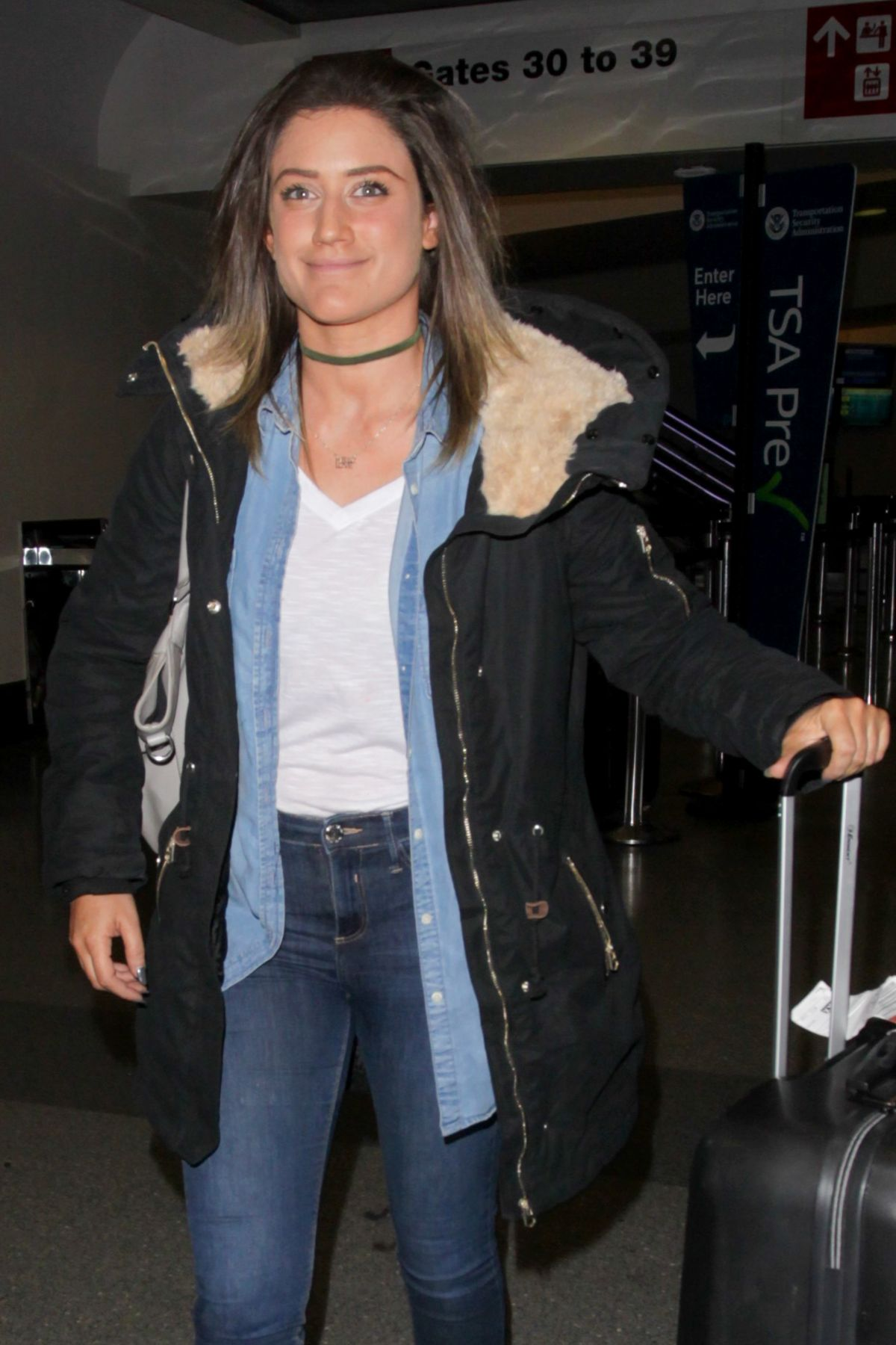 KATIE WAISSEL at Los Angeles International Airport 02/10/2017