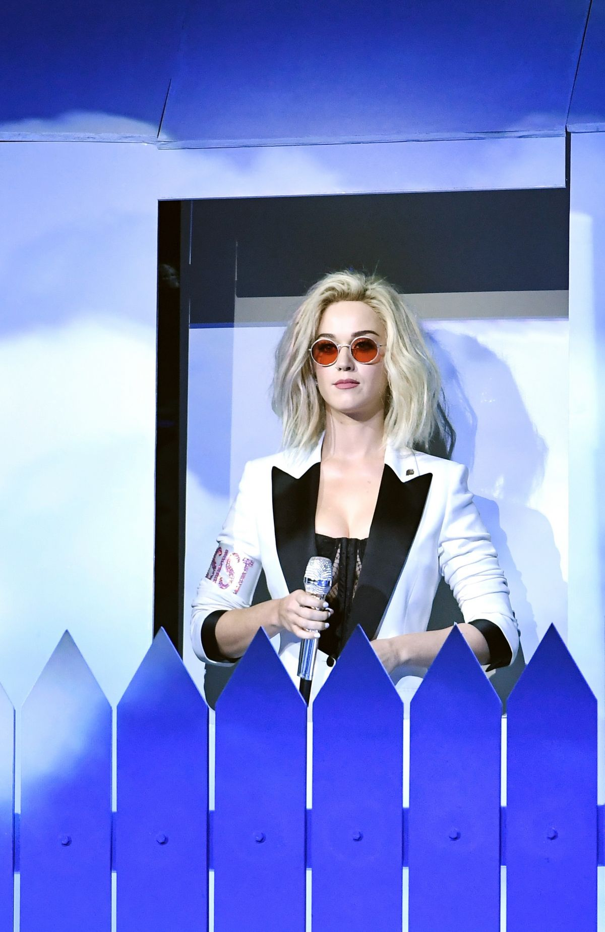 KATY PERRY Performs at 2017 Grammy Awards in Los Angeles ...
