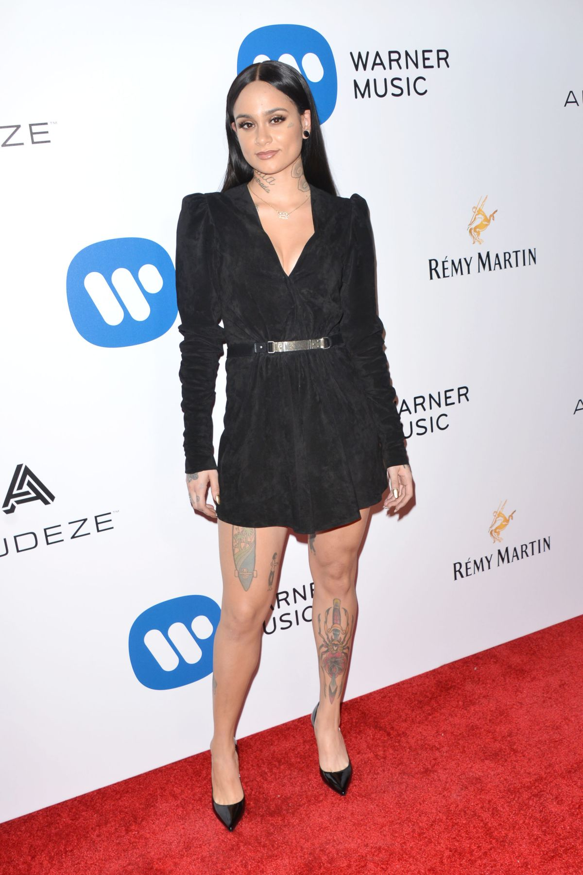 KEHLANI at Warner Music Group Grammy After Party in Los Angeles 02/12/2017