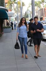 KELLY BROOK Out with Her Boyfriend in Beverly Hills 02/16/2017