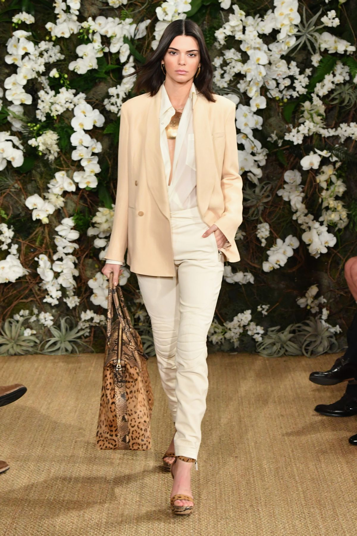 KENDALL JENNER at Ralph Lauren Fall 2017 Fashion Show in ...