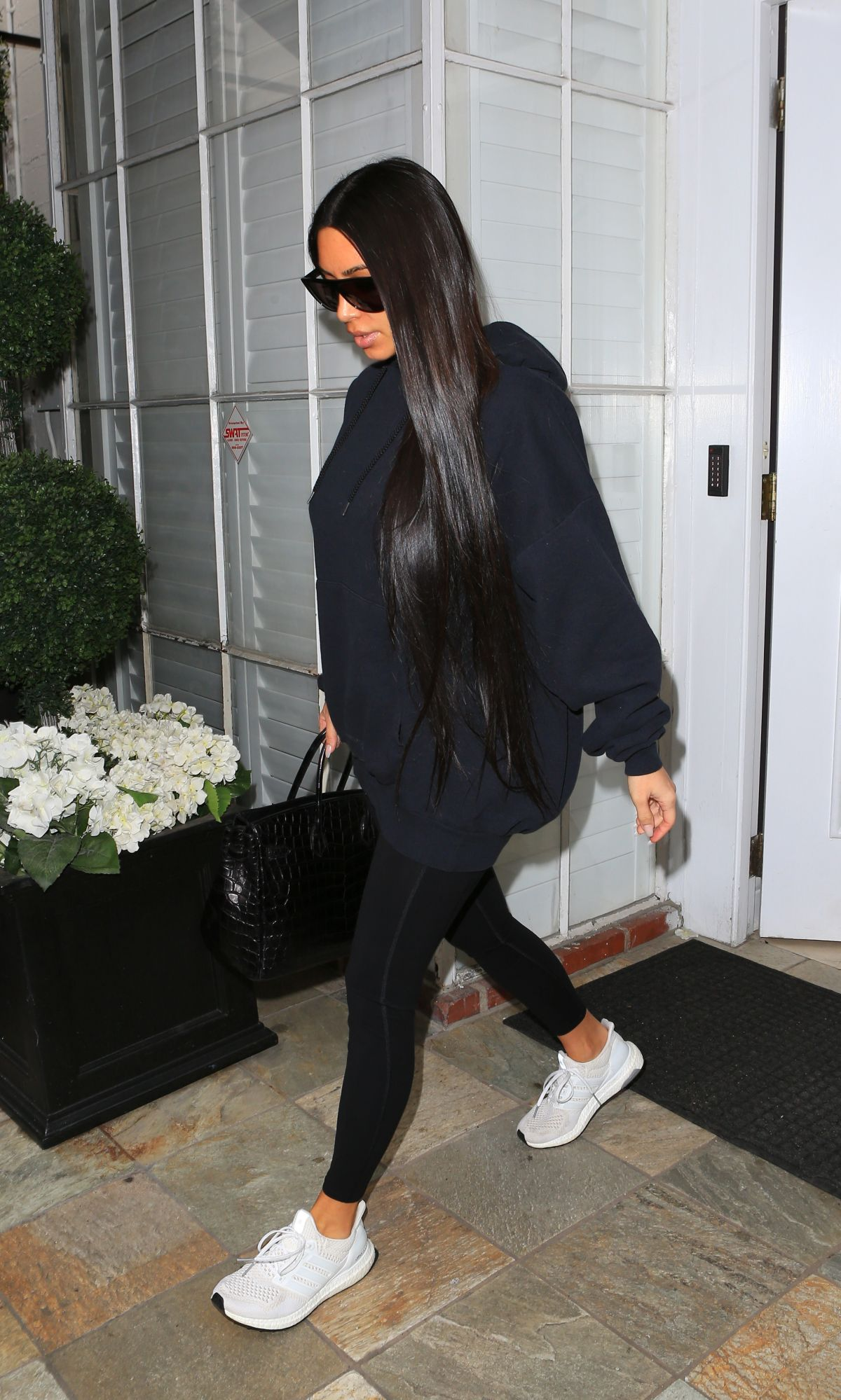 KIM KARDASHIAN Leaves Epione in Beverly Hills 02/19/2017