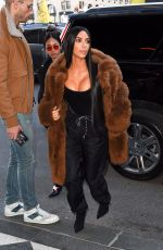 KIM KARDASHIAN Out and About in New York 02/16/2017