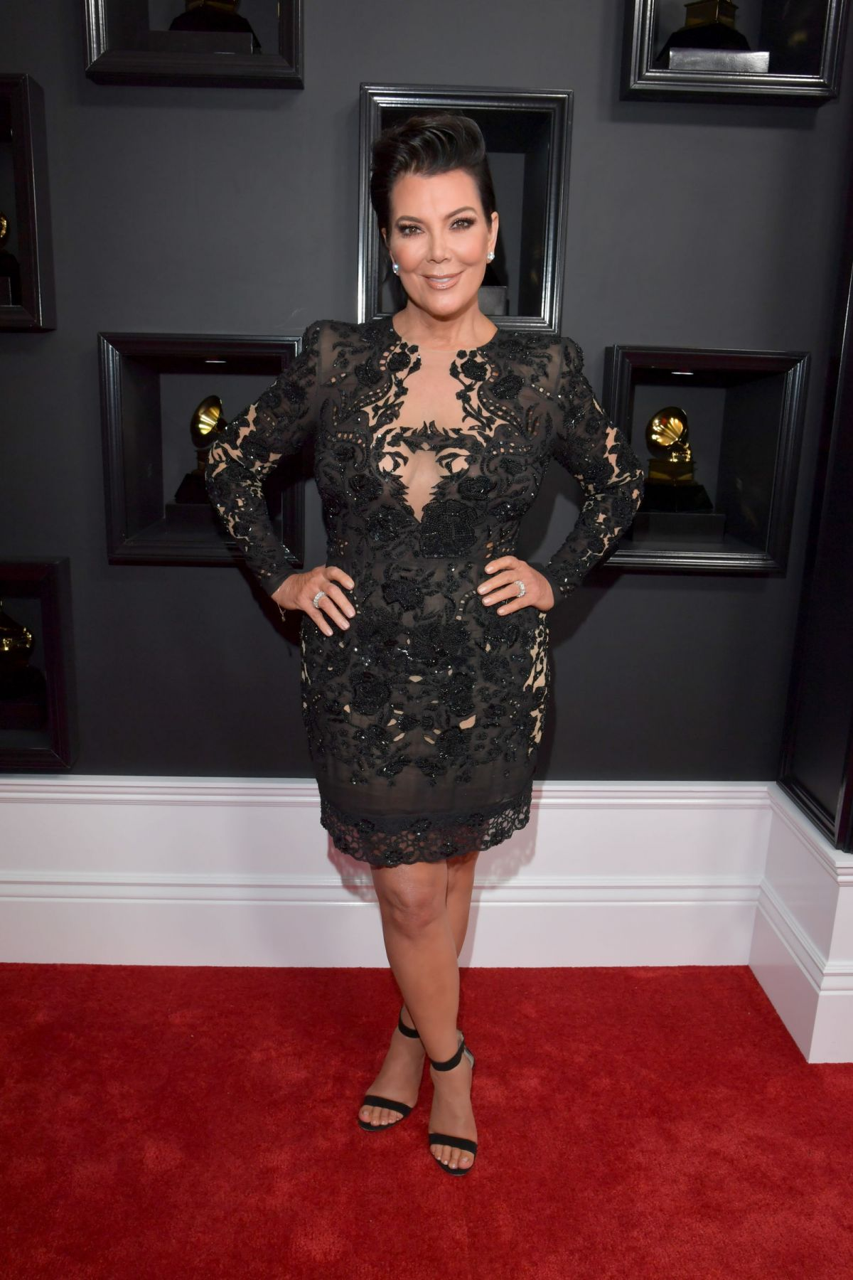 KRIS JENNER at 59th Annual Grammy Awards in Los Angeles 02/12/2017