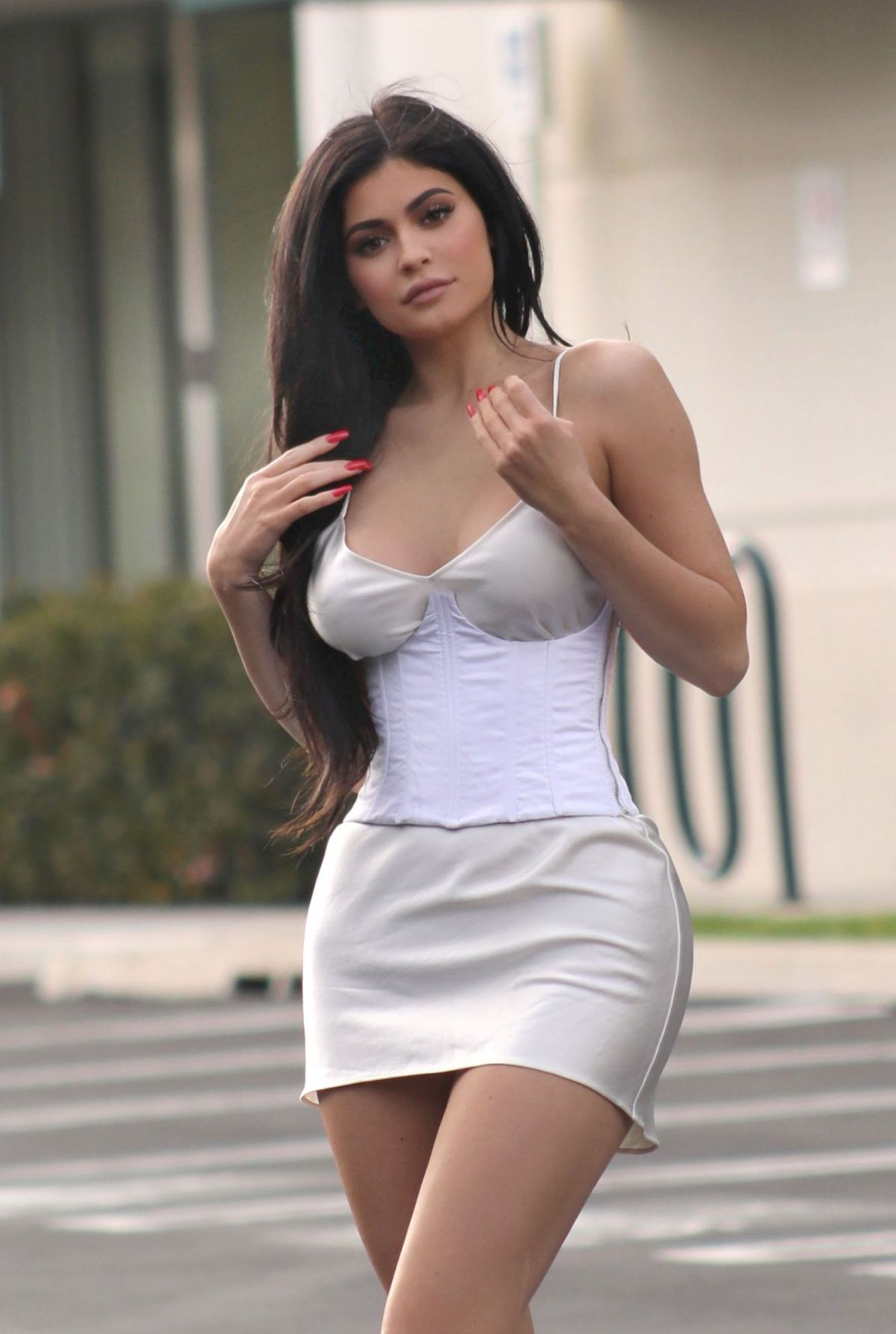 KYLIE JENNER Out In Beverly Hills 02/22/2017