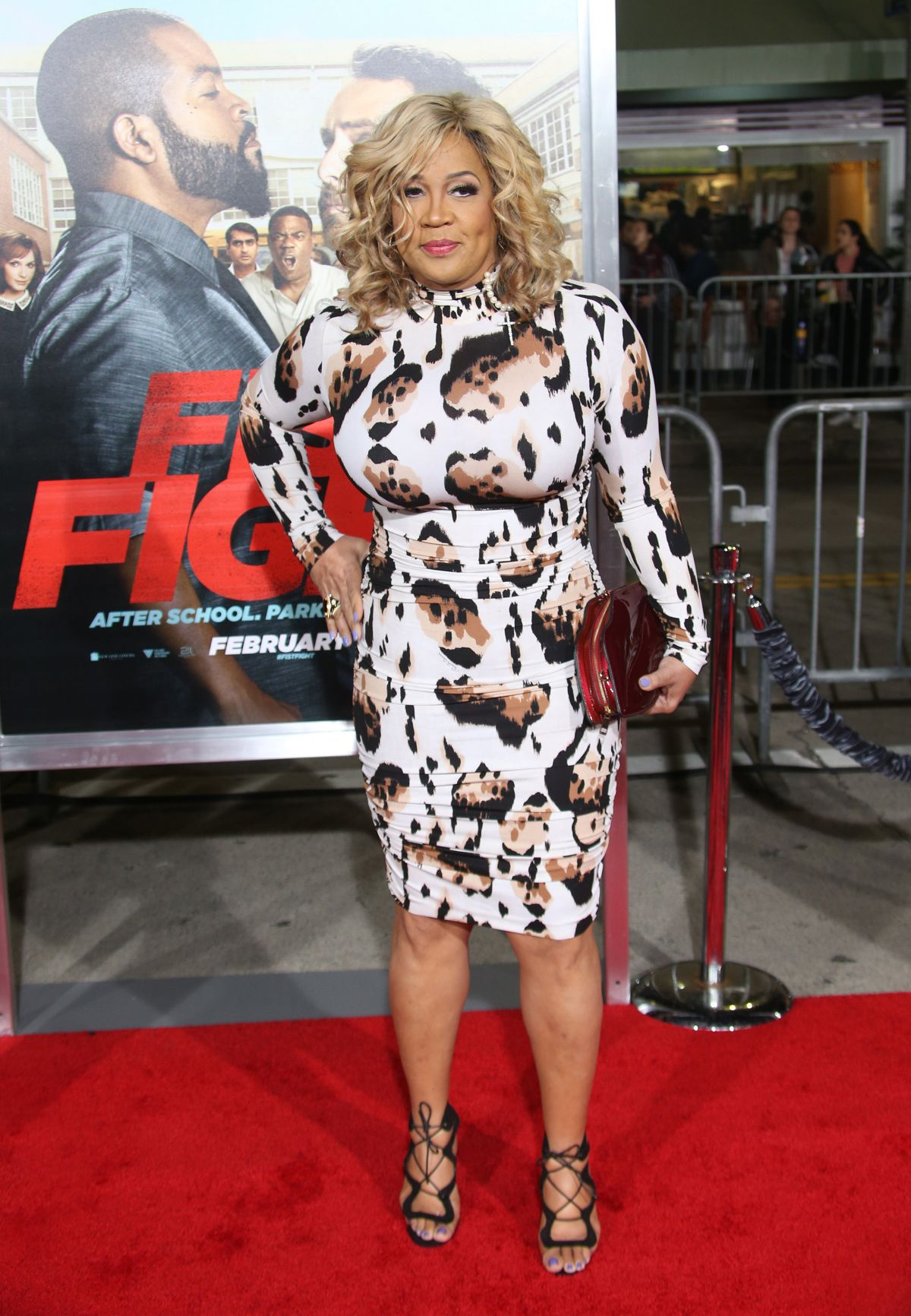 KYM WHITLEY at 'Ffist Fight' Premiere in Westwood 02/13/2017