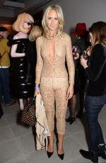 LADY VICTORIA HERVEY at London Fashion Week 02/17/2017
