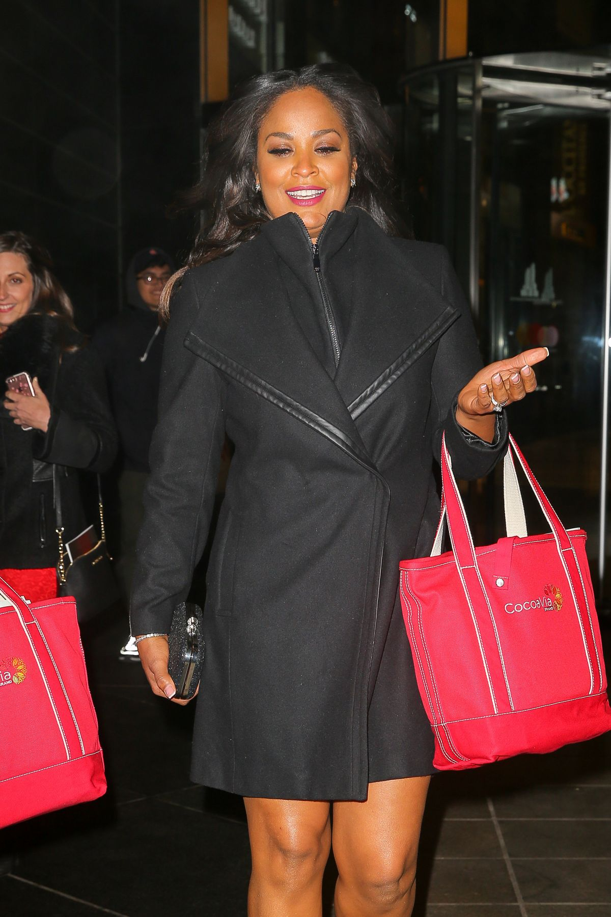 LAILA ALI Out and About in New York 02/07/2017