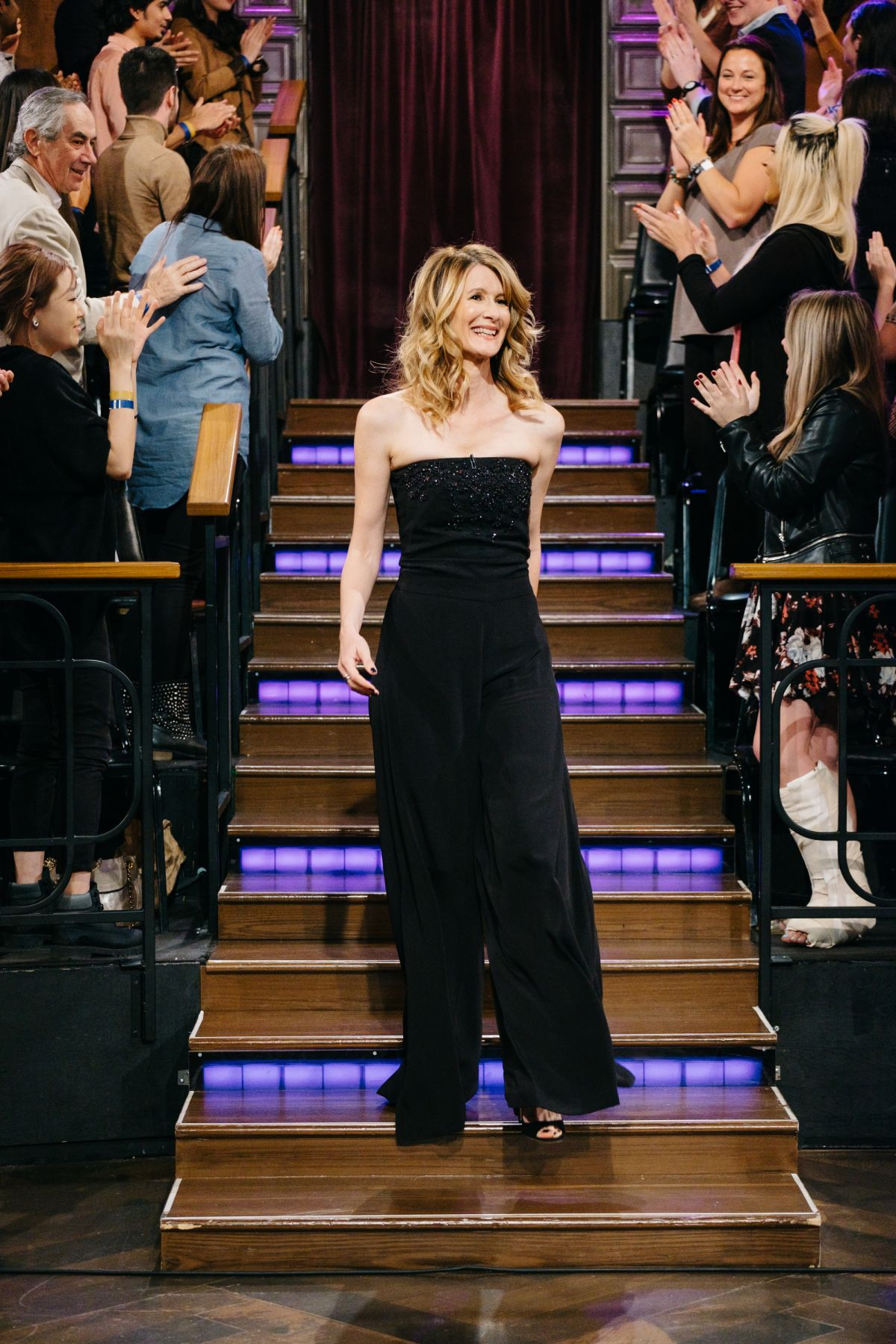 LAURA DERN at The Late Late Show with James Corden 02/15/2017