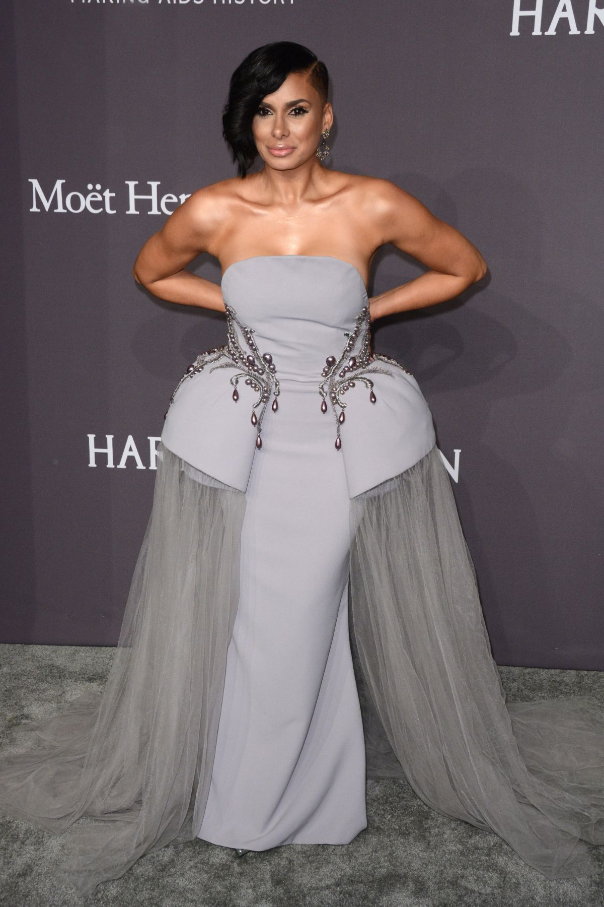 LAURA GOVAN at AMFAR 2017 New York Gala 02/08/2017