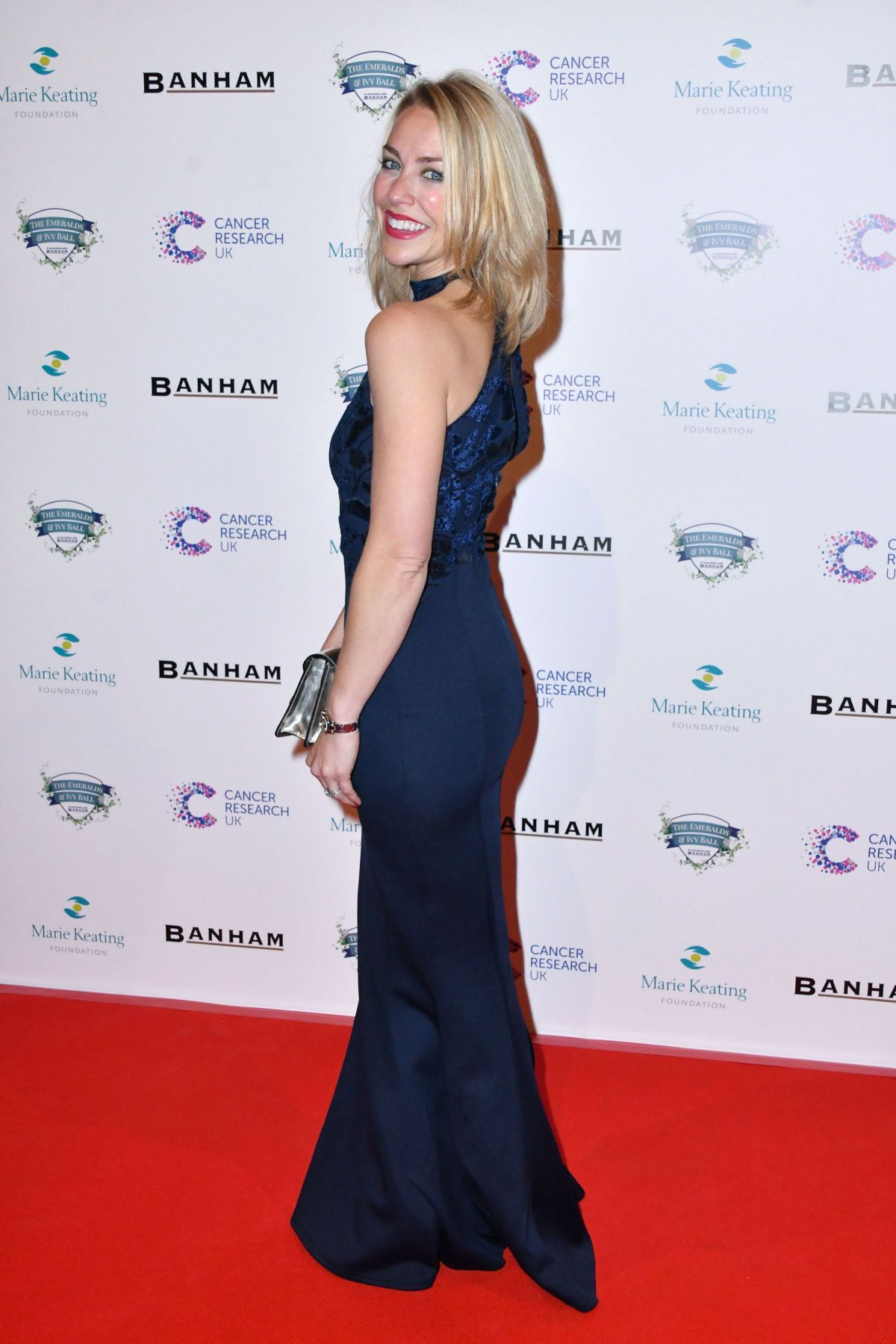 LAURA HAMILTON at Emeralds and Ivy Ball in London 02/25/2017