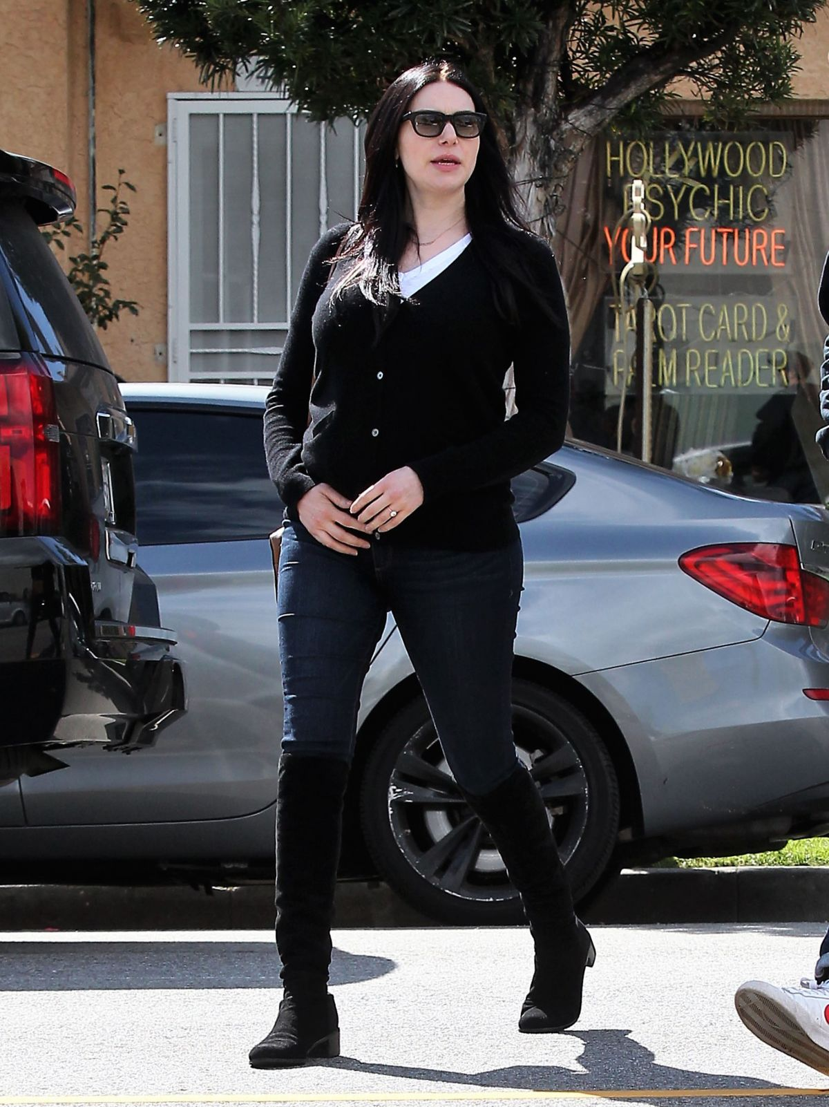 LAURA PREPON Out and About in Silver Lake 02/22/2017