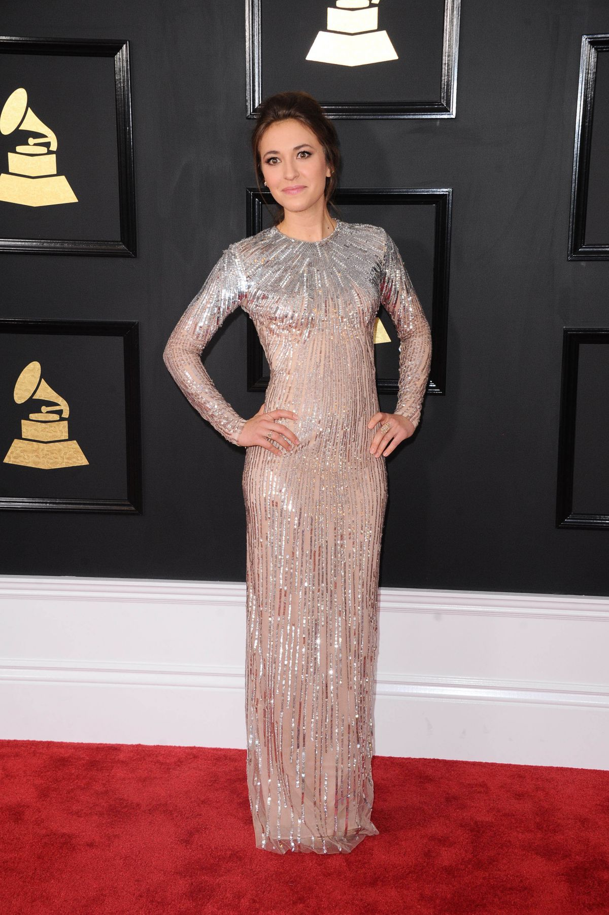 LAUREN DIAGLE at 59th Annual Grammy Awards in Los Angeles 02/12/2017