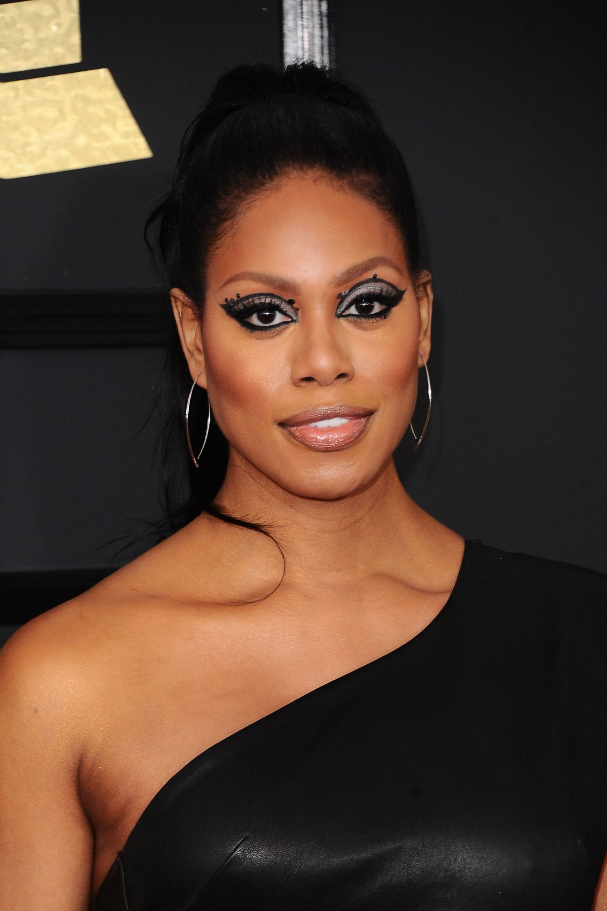 LAVERNE COX at 59th Annual Grammy Awards in Los Angeles 02/12/2017