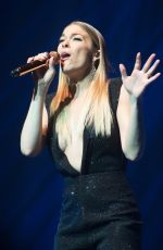 LEANN RIMES Performs at London Palladium in 02/18/2017