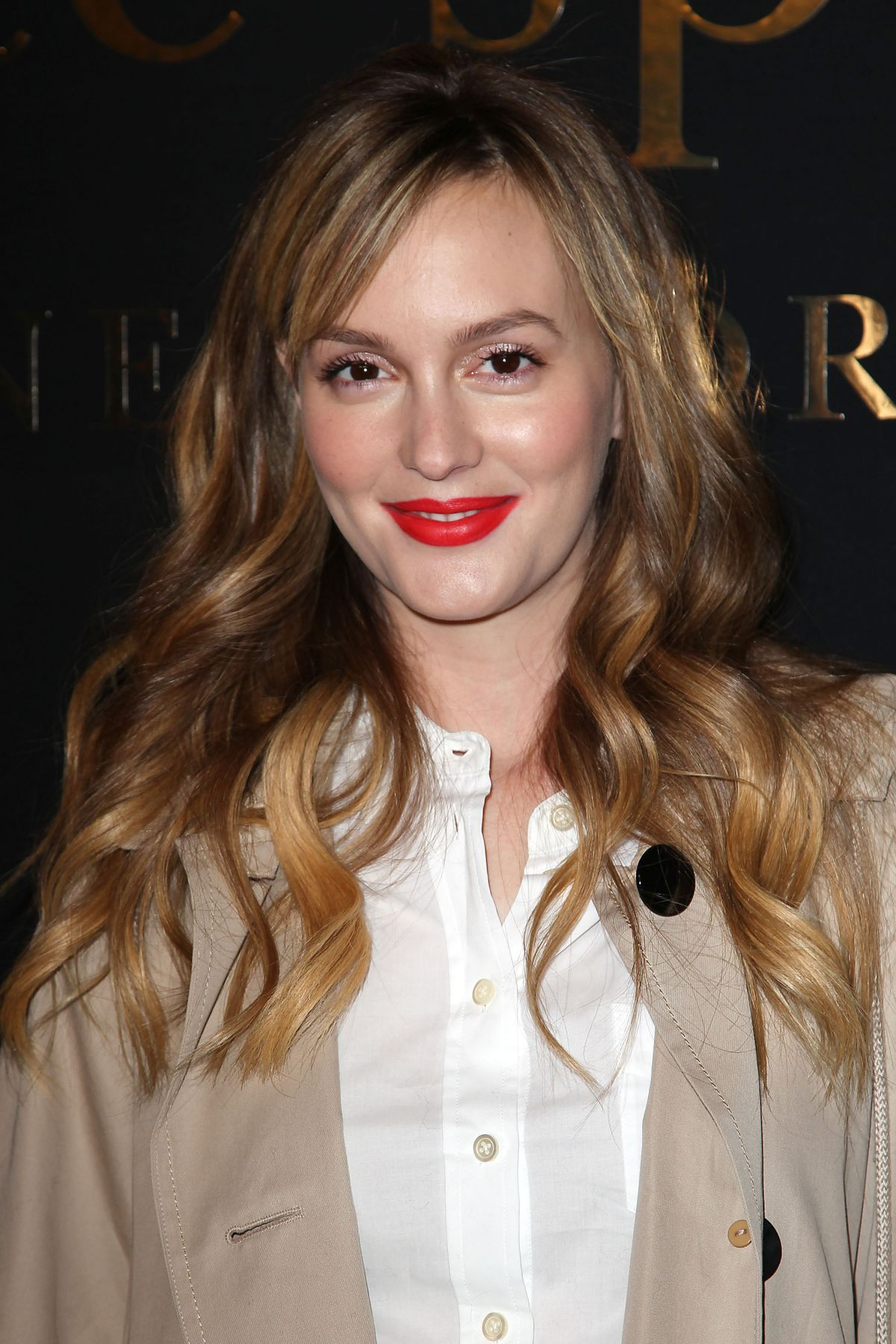 LEIGHTON MEESTER at Kate Spade Fashion Show at New York ...