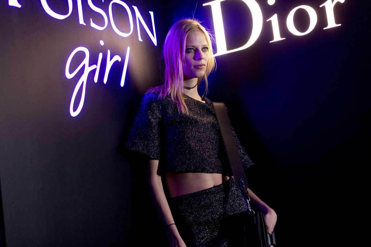 LEXI BOLING at Dior Celebrates Poison Girl in New York 01/31/2017
