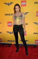 LEXI WOOD at The Lego Batman Movie Screening in New York 02/09/2017