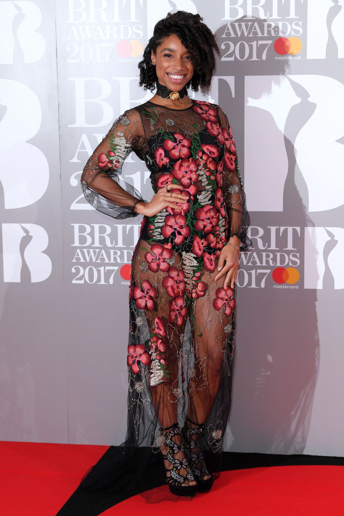 LIANNE LA HAVAS at Brit Awards 2017 in London 02/22/2017