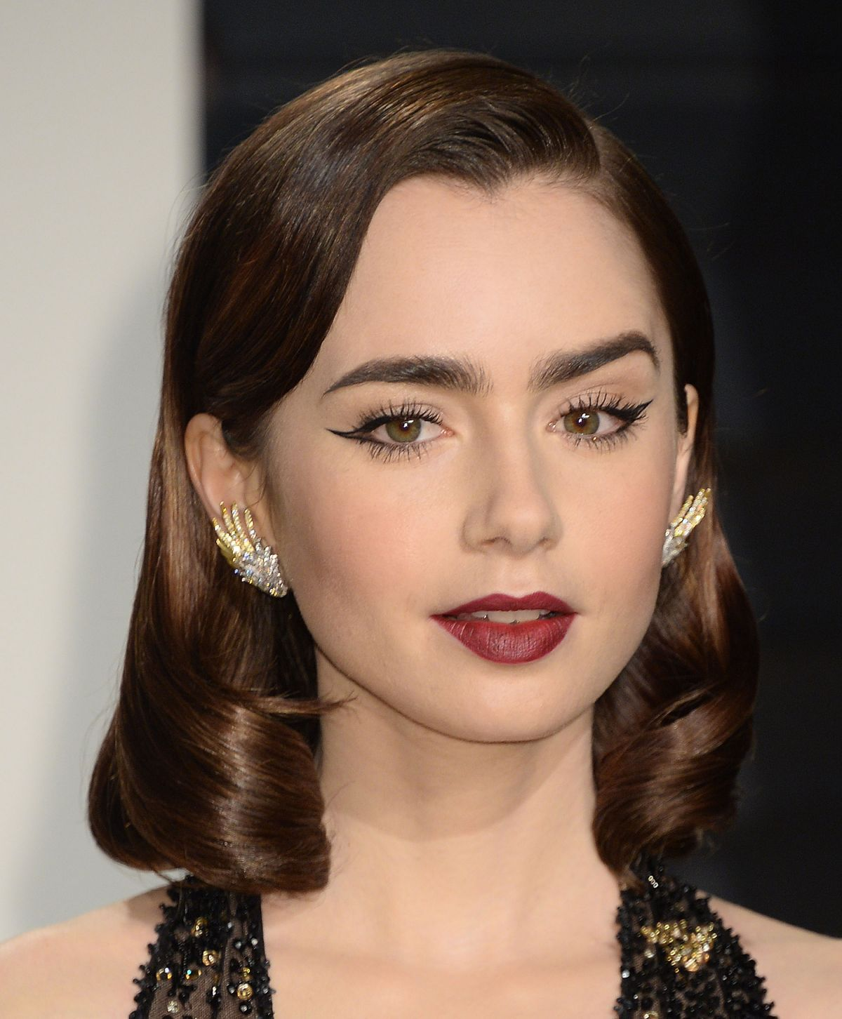 LILY COLLINS at 2017 V...