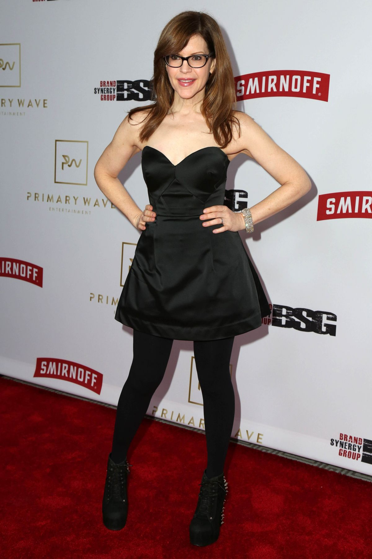 LISA LOEB at Primary Wave 11th Annual Pre-Grammy Party in West Hollywood 02/11/2017