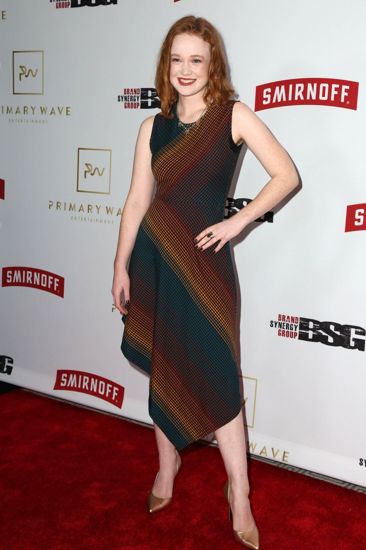 LIV HEWSON at Primary Wave 11th Annual Pre-Grammy Party in West Hollywood 02/11/2017