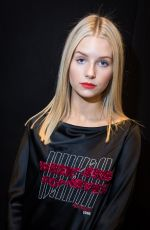 LOTTIE MOSS at Topshop Fashion Show at London Fashion Week 02/19/2017