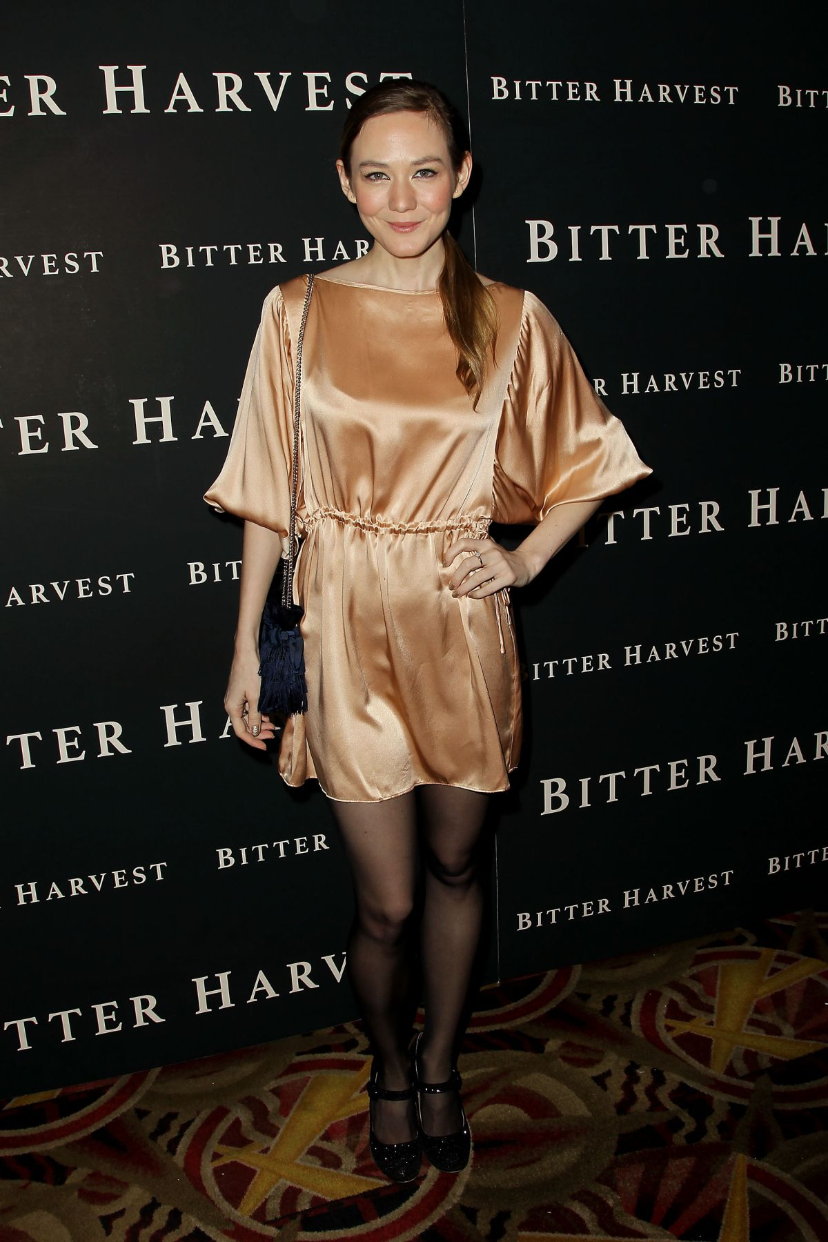 LOUISA KRAUSE at Bitter Harvest Premiere in New York 02/16/2017
