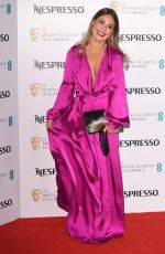 LOUISE THOMPSON at Bafta Nespresso Nominees' Party in London 02/11/2017