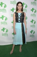 LYNDSY FONSECA at 14th Annual Global Green Pre Oscar Party in Los Angeles 02/22/2017