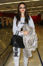 MADISON BEER at Los Angeles International Airport 02/14/2017