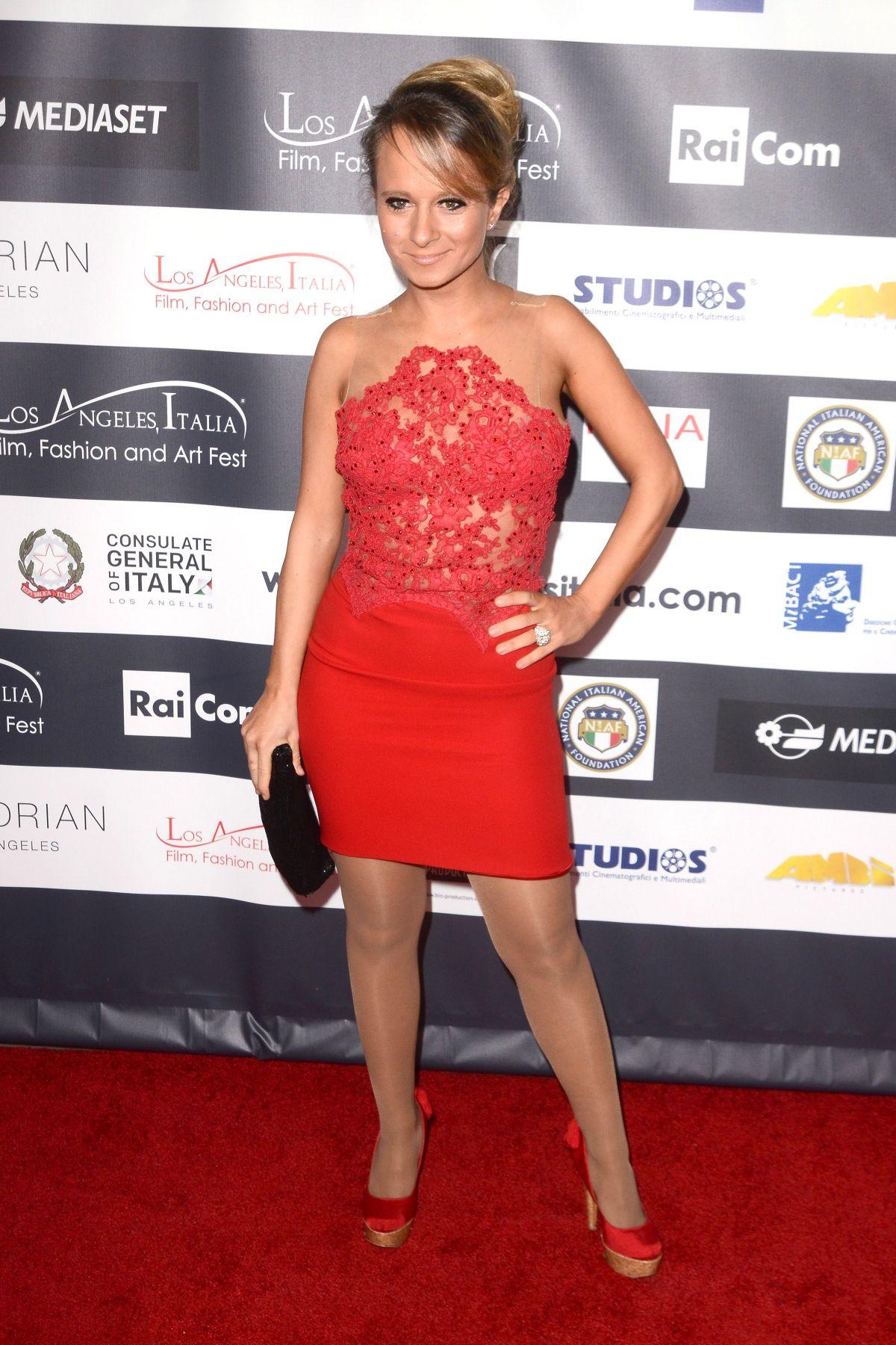 MARIA ELENA INFANTINO at 12th Los Angeles Italia Film, Fashion and Art Festival 02/19/2017