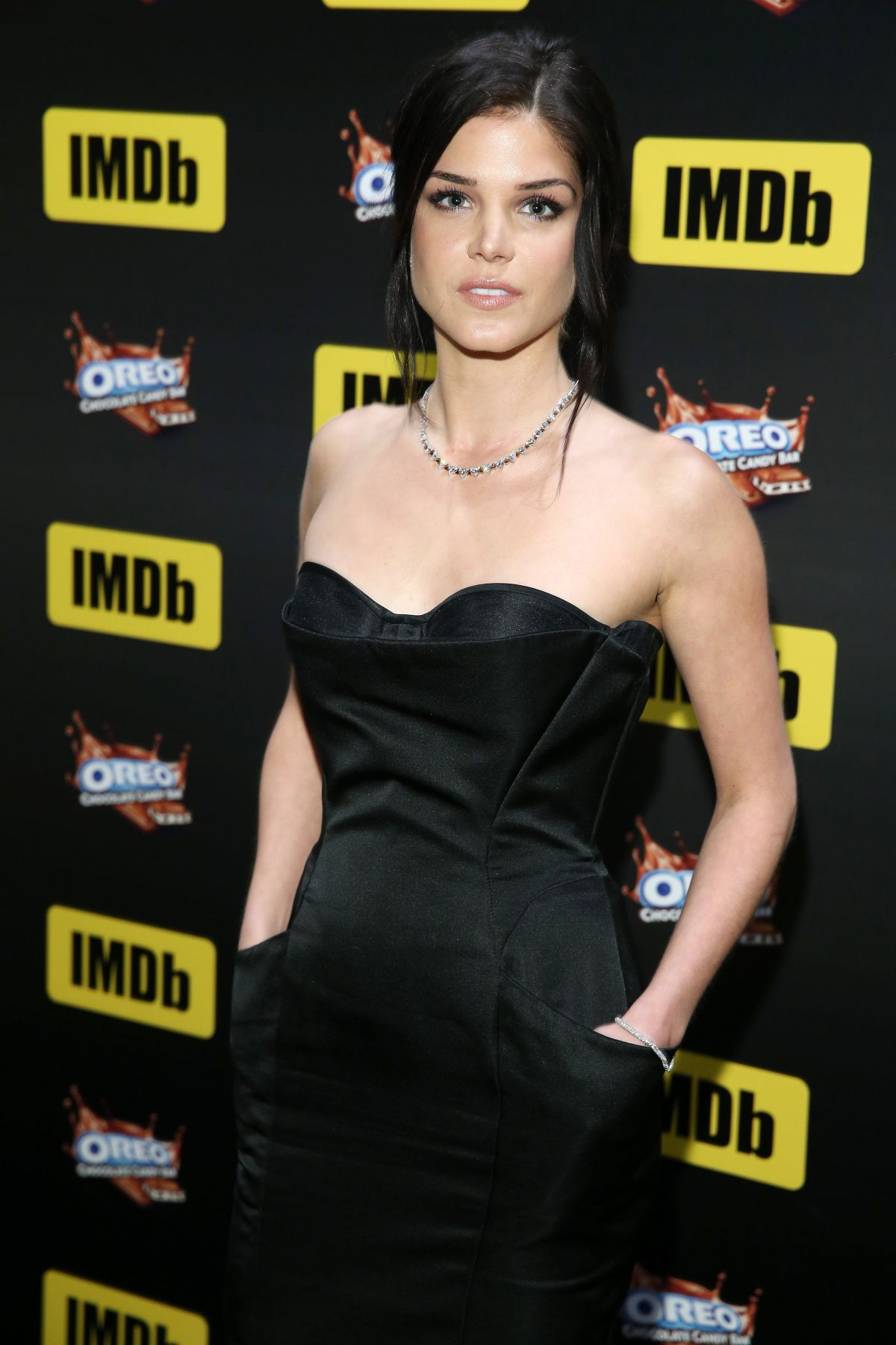 MARIE AVGEROPOULOS at imdb Live Viewing Party in Hollywood 02/26/2017