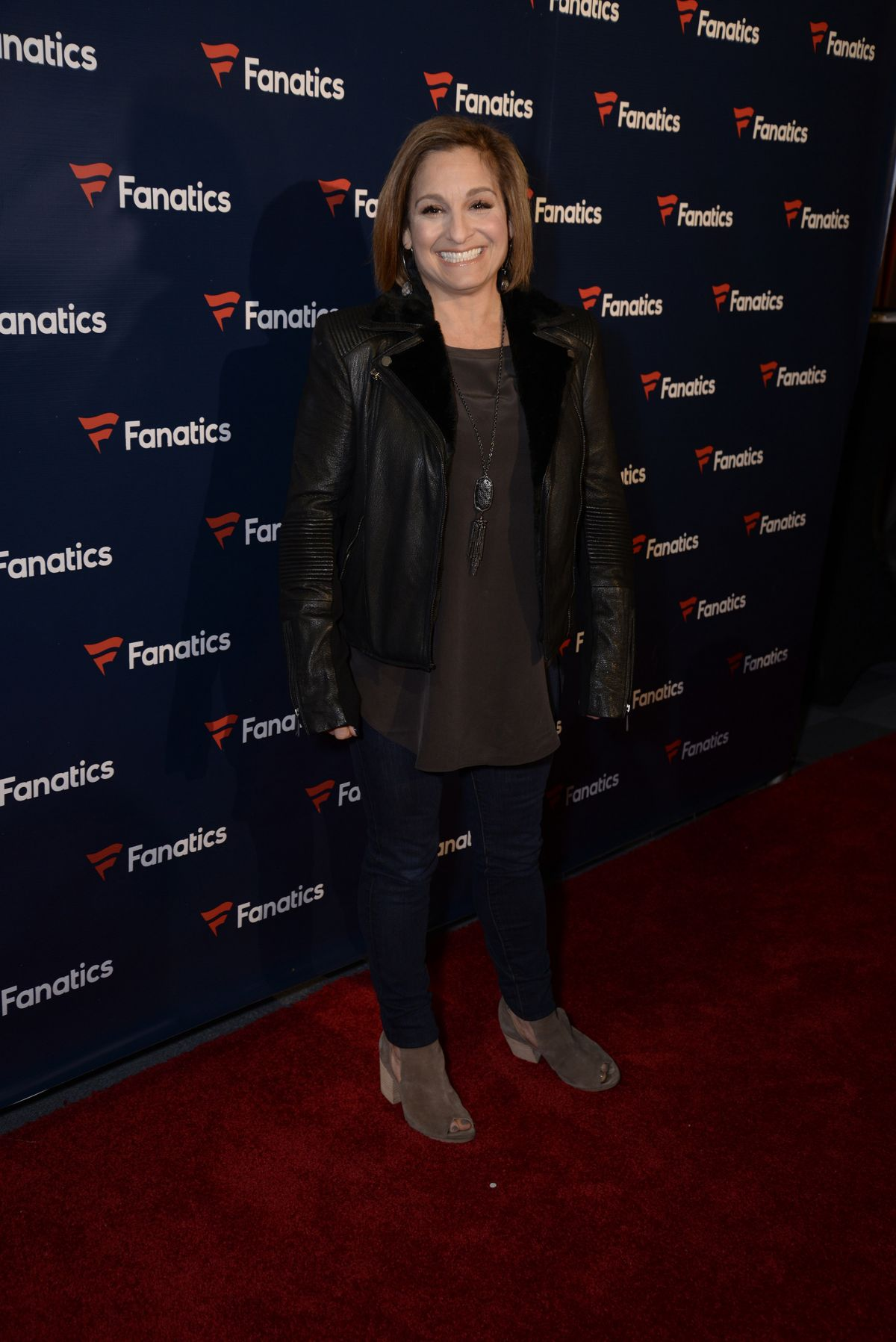 MARY LOU RETTON at Fanatics Super Bowl Party at Bayou Place in Houston 02/04/2017