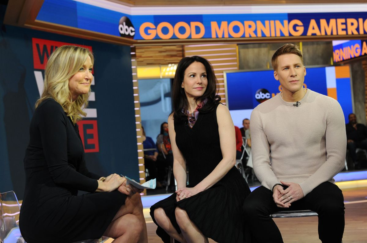 MARY-LOUISE PARKER on the Set of Good Morning America 02/23/2017